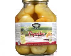 Paprika met Zuurkool
